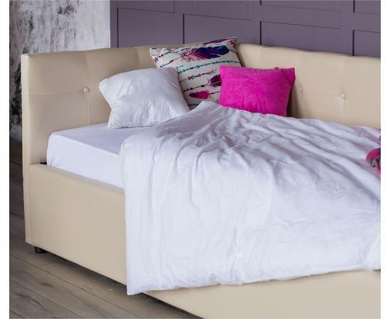 Кровать односпальная Bonna с матрасом ГОСТ 2000x900, фото 4
