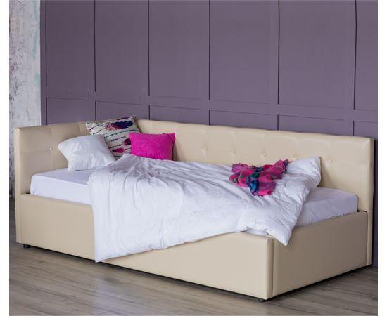 Кровать односпальная Bonna с матрасом ГОСТ 2000x900, фото 2