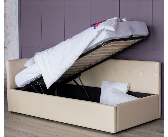 Кровать односпальная Bonna с матрасом ГОСТ 2000x900, фото 3