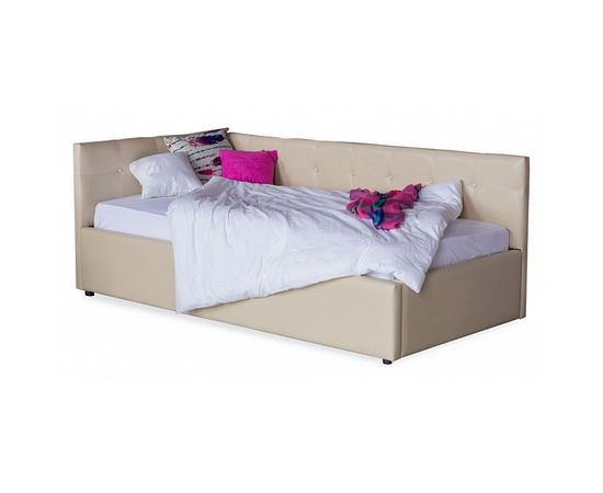 Кровать односпальная Bonna с матрасом ГОСТ 2000x900, фото 1